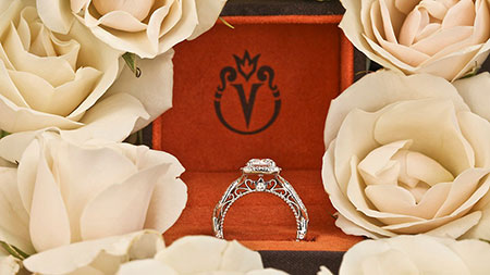Verragio Designer Engagement Ring