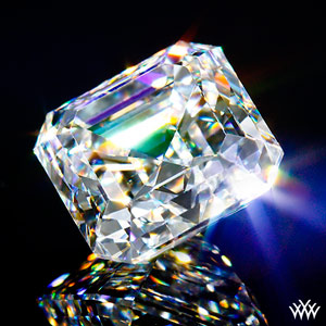 certified asscher cut diamond