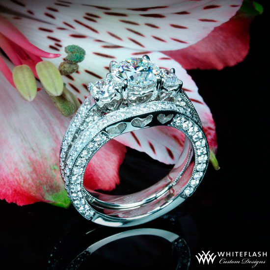 Clour de Clara Ashley  Engagement Ring Set