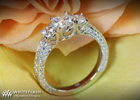 Coeur de Clara Ashley Diamond Ring