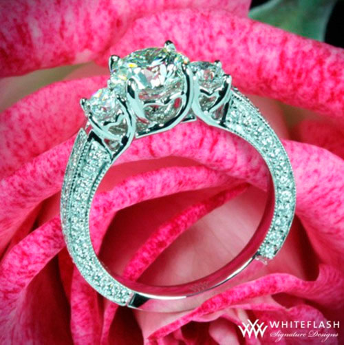 Valentine's Day Engagement ring