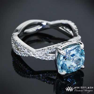 blue diamond engagement rings tiffany images