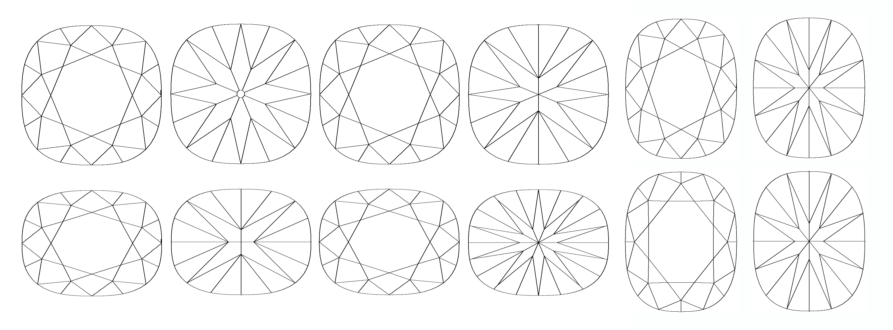 Facet Pattern Variation