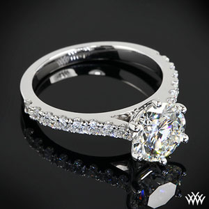 6 Prong Diamond Engagement Ring by Whiteflash