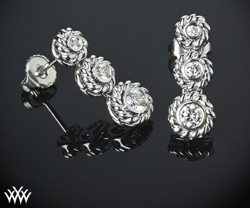 Custom Design Diamond Studs