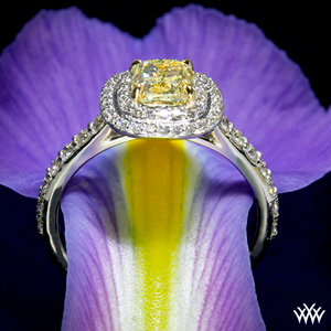 Custom-Double-Halo-Diamond-Engagement-Ring-With-Fancy-Yellow-Cushion-Diamond-By-Whiteflash_30625_g-2