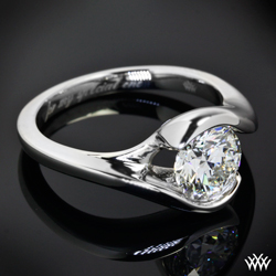 """Iris"" Solitaire Engagement Ring"