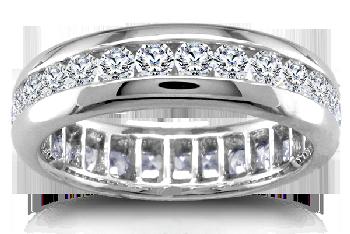 platinum wedding ring by vatche
