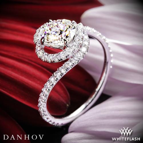 Danhov AE100 Abbraccio Engagement Ring