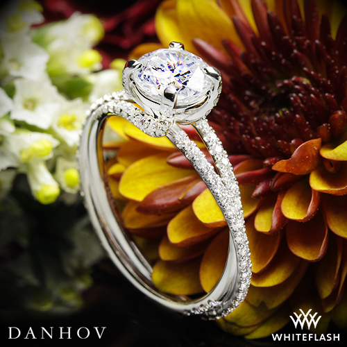 Danhov ZE101 Eleganza Engagement Ring