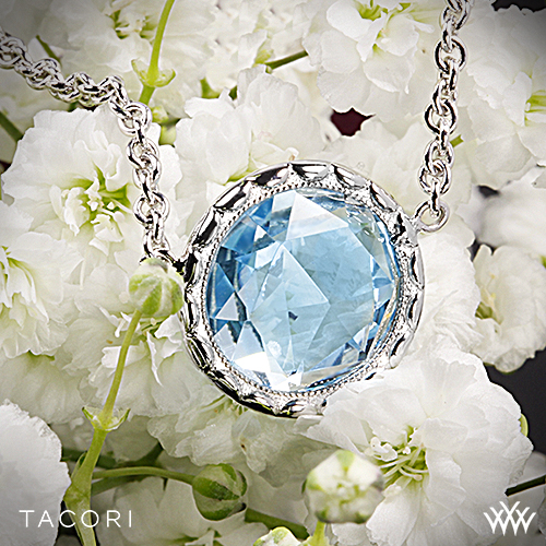 Tacori Blue Topaz Pendant