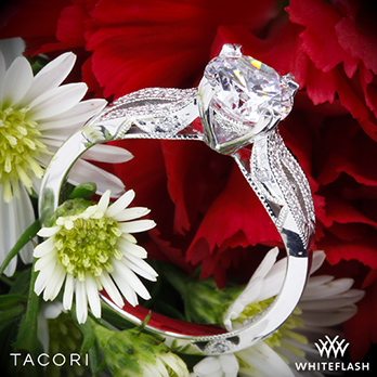 Tacori 2573SM Split Shank Diamond Engagement Ring
