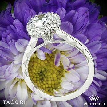 Tacori 55-2CU Full Bloom Halo Solitaire Engagement Ring