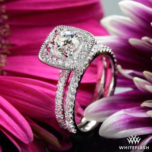 Custom Diamond Wedding Set