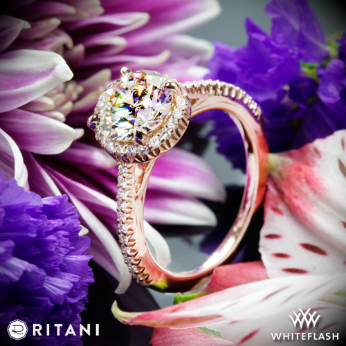 Ritani 1RZ3702 Engagement Ring