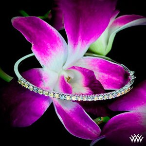 Diamond-and-Sapphire-Bangle