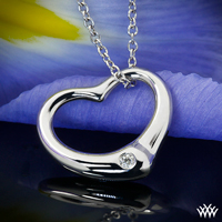 """Essence"" Heart Pendant"