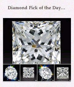 Diamond Pick of the Day Pinboard