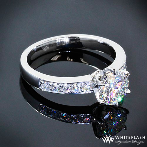 diamond ring form whiteflash designers