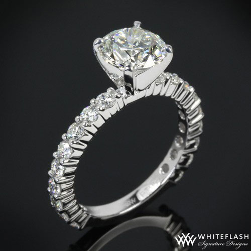 Diamonds For An Eternity 3/4 Engagement Ring