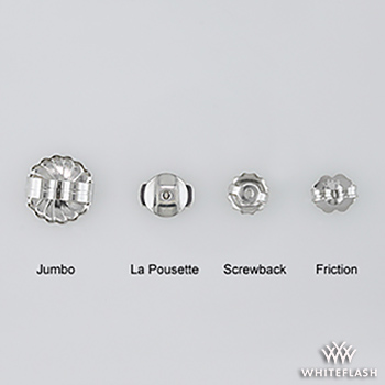 Various Types of Earring Backs