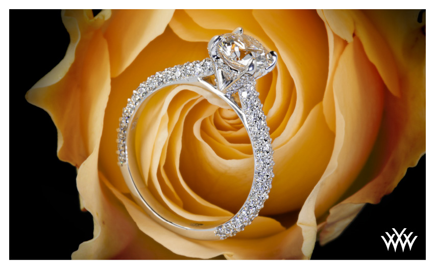 Elena Diamond Engagement Ring November 2014 Whiteflash Jewelry Calendar
