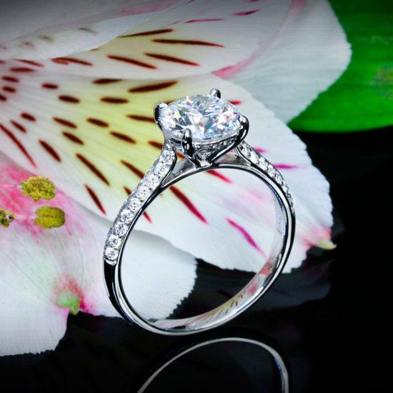 engagement ring caroline