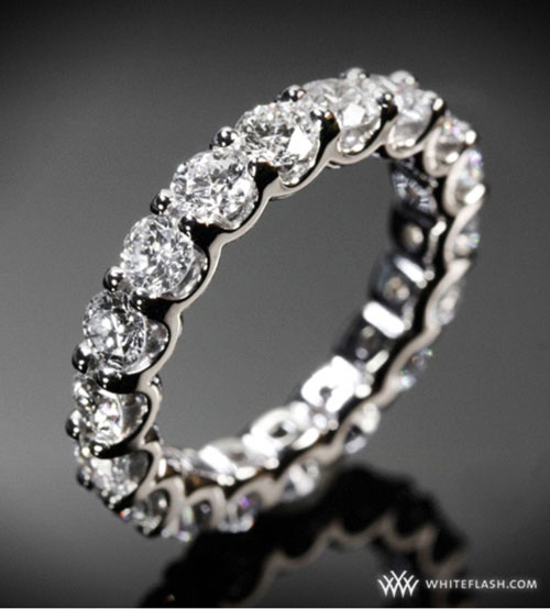 Eternity Bands Are The Ultimate Luxury That Anyone Can Get More And Brides Looking At As Wedding Band Options While People Who
