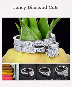 Fancy Diamond Cuts Pinboard