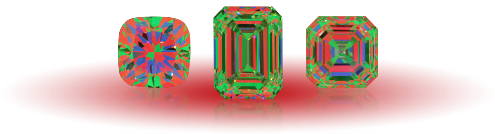 Virtual Diamonds Fancy Shapes ASET