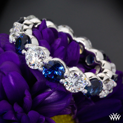 Custom Sapphire Wedding Band