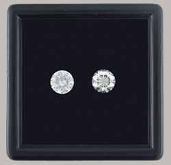 Pair of Round Cut Diamonds
