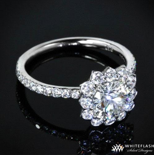 halo style ring setting