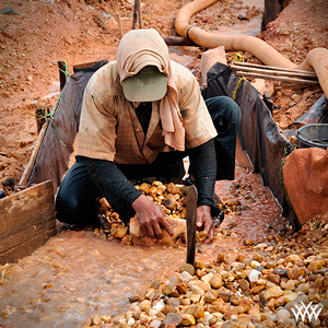 Hand Mining for Diamonds