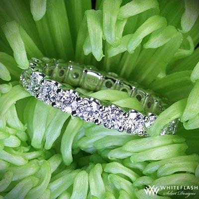 harmony diamond wedding band