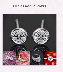 Hearts and Arrows Diamonds Pinboard