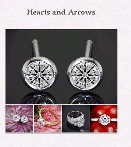 Hearts and Arrows Diamonds Pinboard