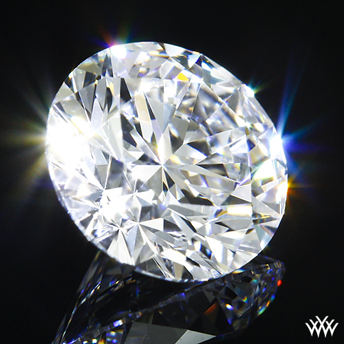 Round Ideal Diamond