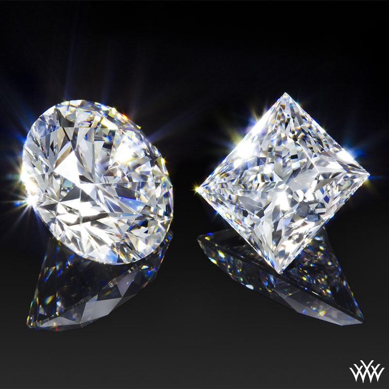 Round & Princess Ideal Diamonds