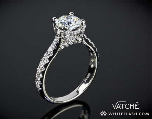Vatche 1026 Jennifer Diamond Engagement Ring