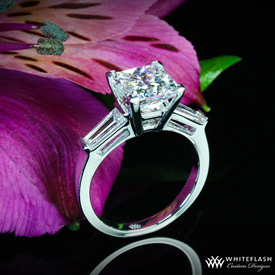 Kim Kardashian engagement ring style