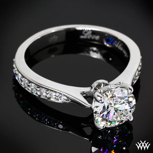 Legato white gold ring by  Whiteflash