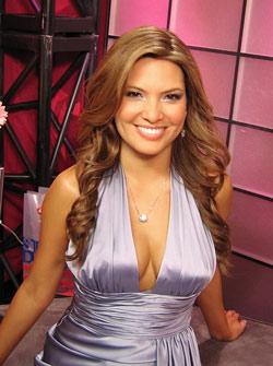 Madison Michelle wearing Whiteflash Diamonds