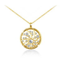 "Mini ""Dreams of Africa™"" Diamond Pendant"