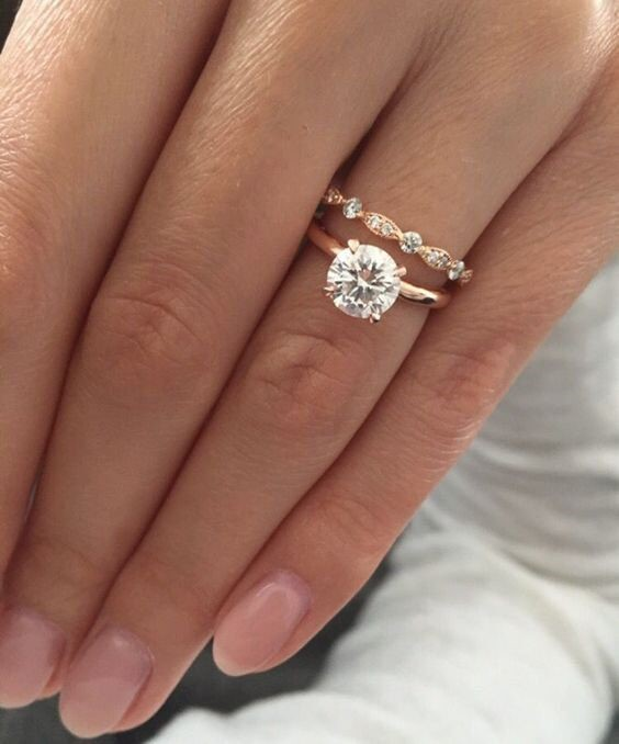 theres no getting away from the sheer simplistic beauty of this winner of the most popular engagement rings we think it is almost perfectly matched in - Popular Wedding Rings