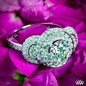 Pave Diamond Engagement Ring(1)