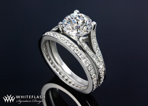 Pave Engagement Ring(1)