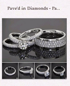 Paved in Diamonds Pinboard