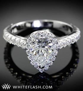 pear engagement ring setting