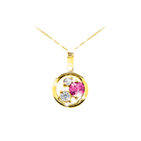 "Petite ""Dreams of Africa™"" Diamond Pendant"